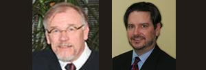 Dr. Brad Isaacson and Dr. James Dau